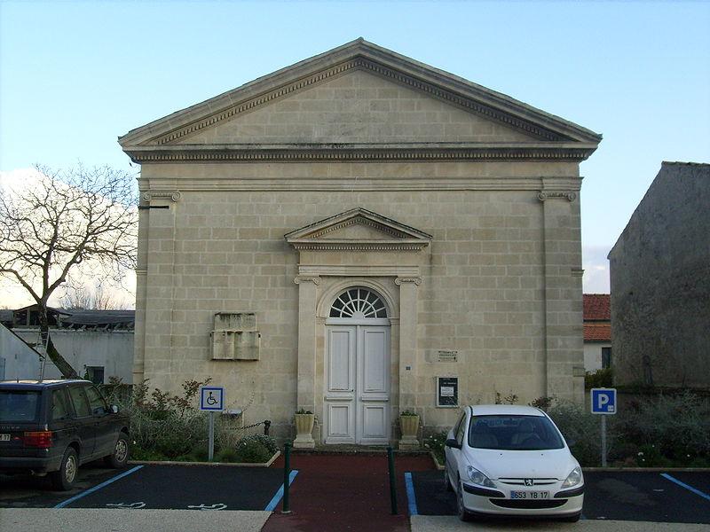 17920-EGLISE PROTESTANTE UNIE DE BREUILLET dans 17-Charente Maritime 17-breuillet