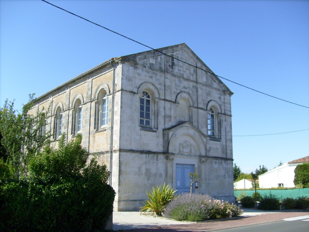 17890-EGLISE PROTESTANTE UNIE DE CHAILLEVETTE dans 17-Charente Maritime 17-chaillevette