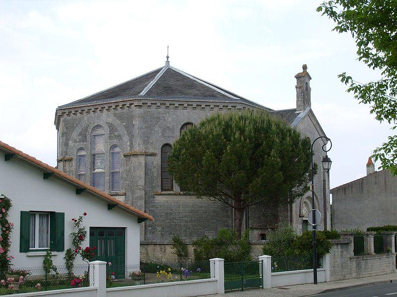 17200-EGLISE PROTESTANTE UNIE DE SAINT SULPICE DE ROYAN - R dans 17-Charente Maritime 17-saint-sulpice-sur-mer