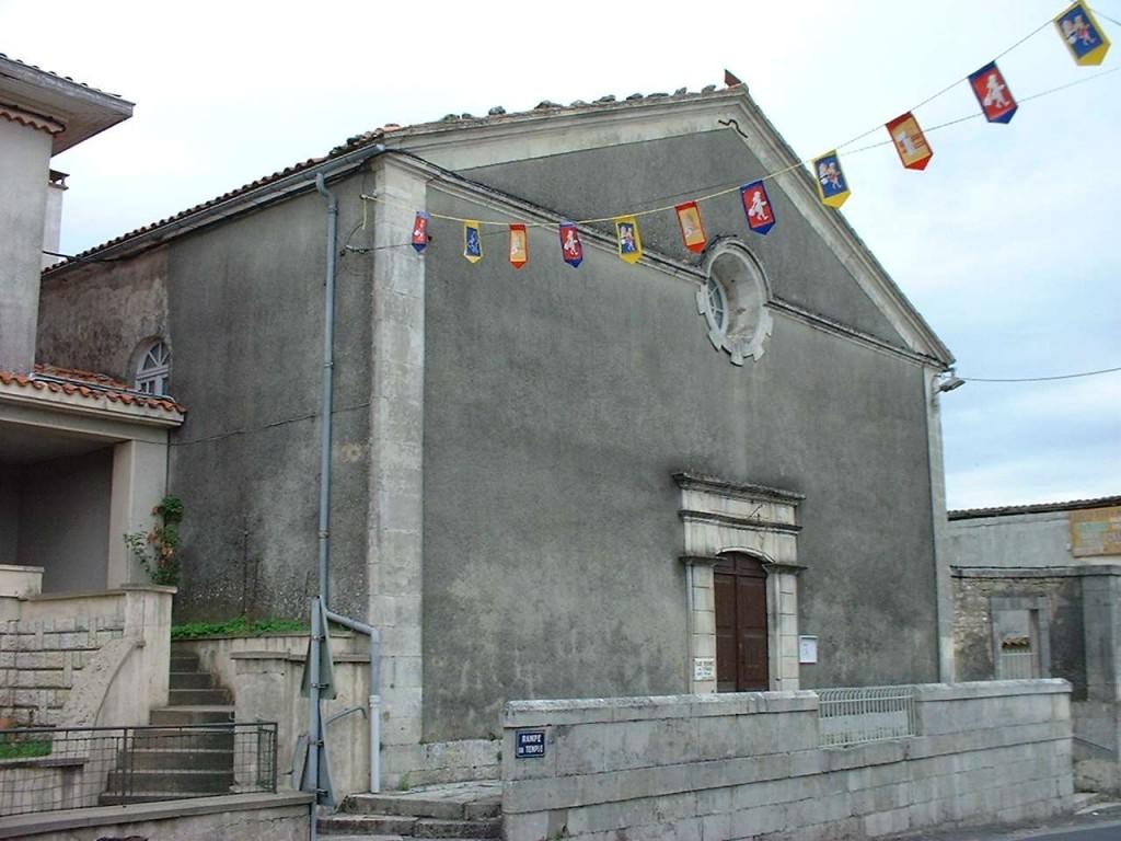 17120-EGLISE PROTESTANTE UNIE DE COZES dans 17-Charente Maritime 17-temple-de-cozes