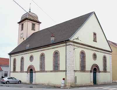 25200 - EGLISE PROTESTANTE UNIE DE BETHONCOURT dans 25-Doubs 25200-bethoncourt