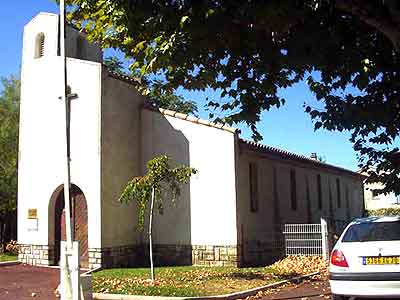 30140-EGLISE PROTESTANTE UNIE DE SALINDRES dans 30-Gard 30-salindres