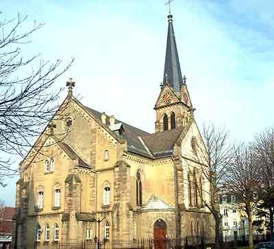 68200-EGLISE PROTESTANTE UNIE DE MULHOUSE ST PAUL dans 68-Haut Rhin 68200-mulhouse-st-paul