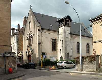 70000- EGLISE PROTESTANTE DE VESOUL dans 70-Haute Saone 70000-vesoul