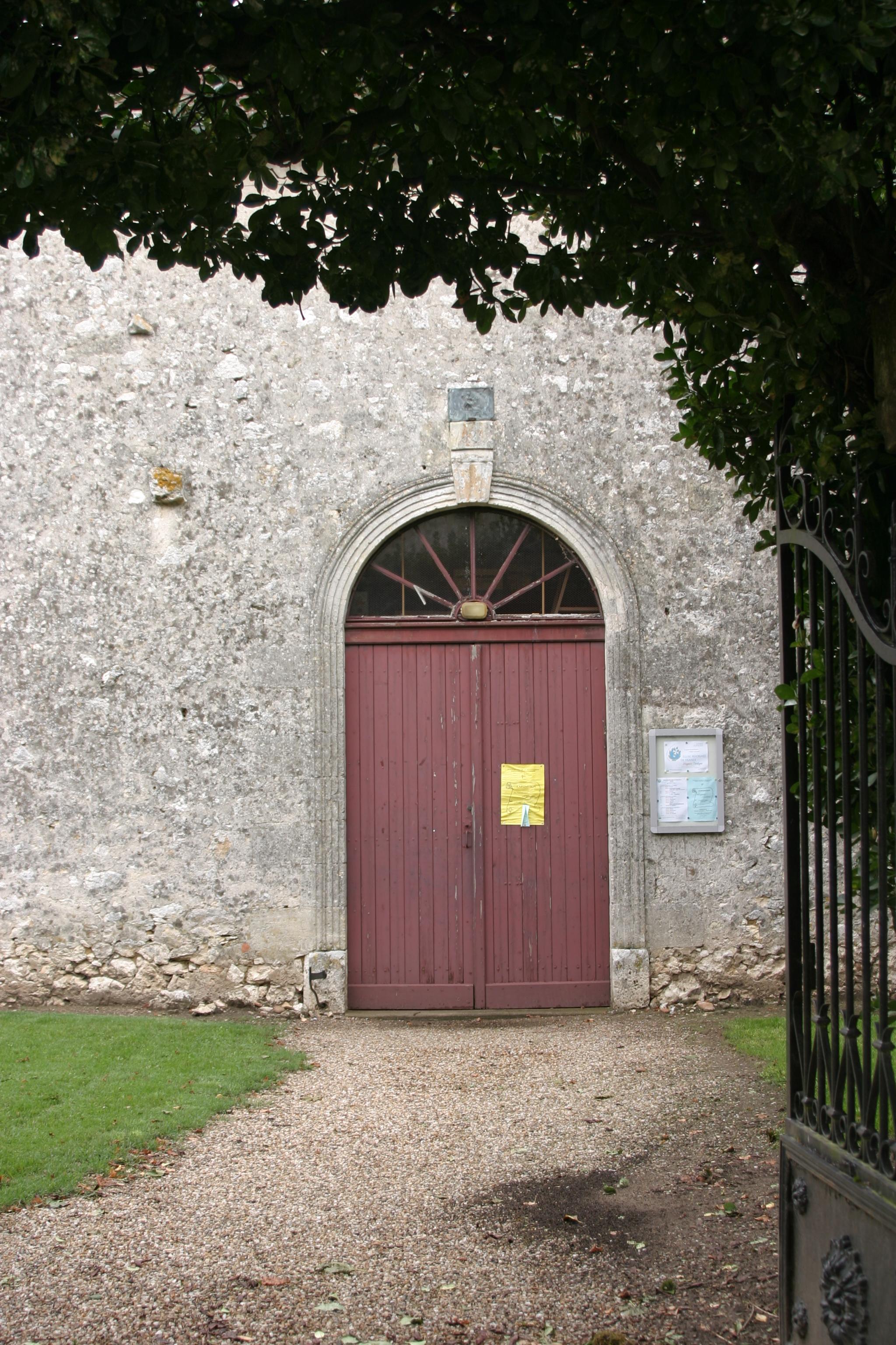 24 230 - EGLISE PROTESTANTE UNIE de SAINT-ANTOINE-DE-BREUIL dans 24-Dordogne f-temple-de-saint-antoine