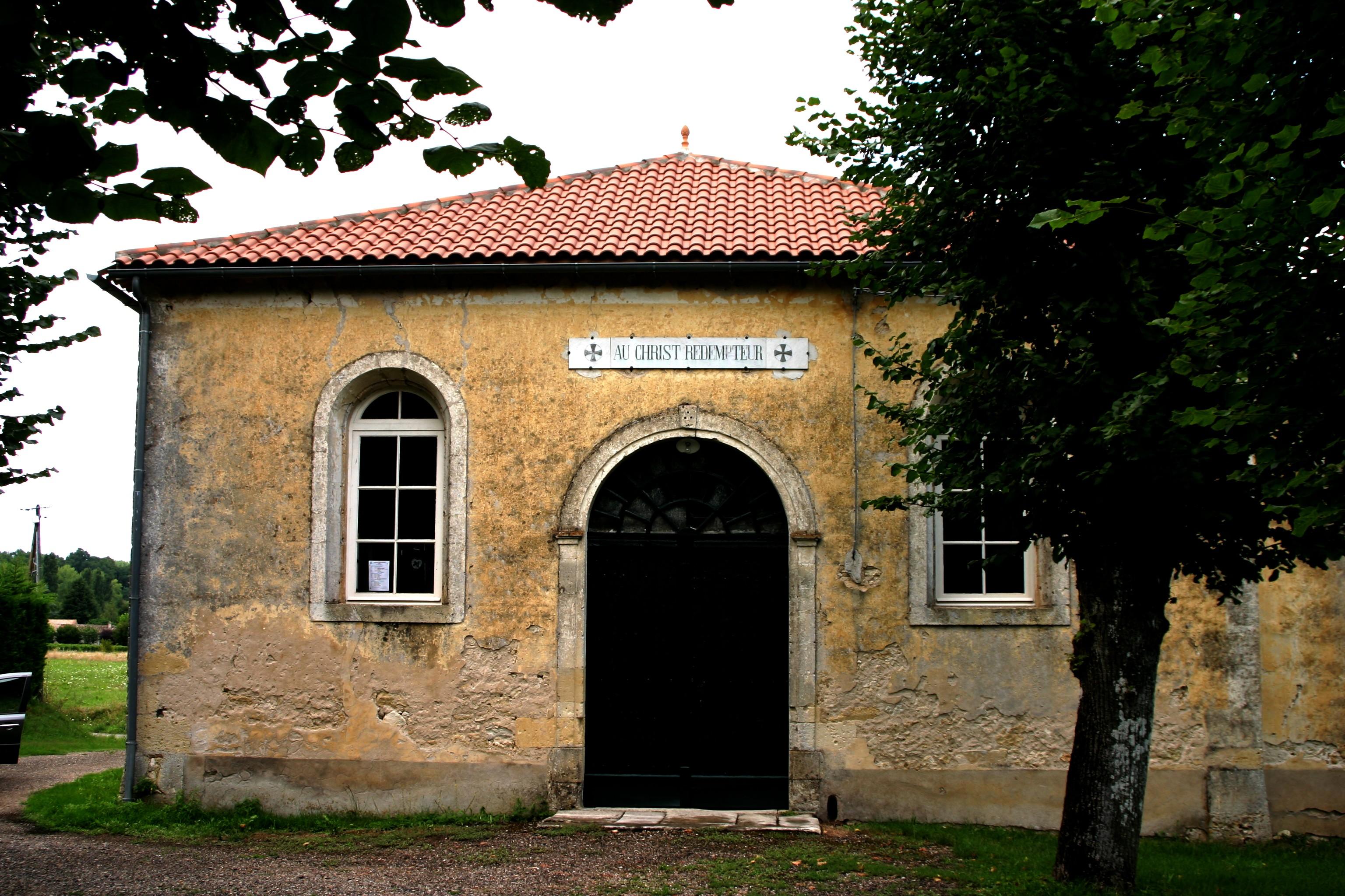 24230 - EGLISE PROTESTANTE UNIE DE MONTCARET dans 24-Dordogne templedemontcaret