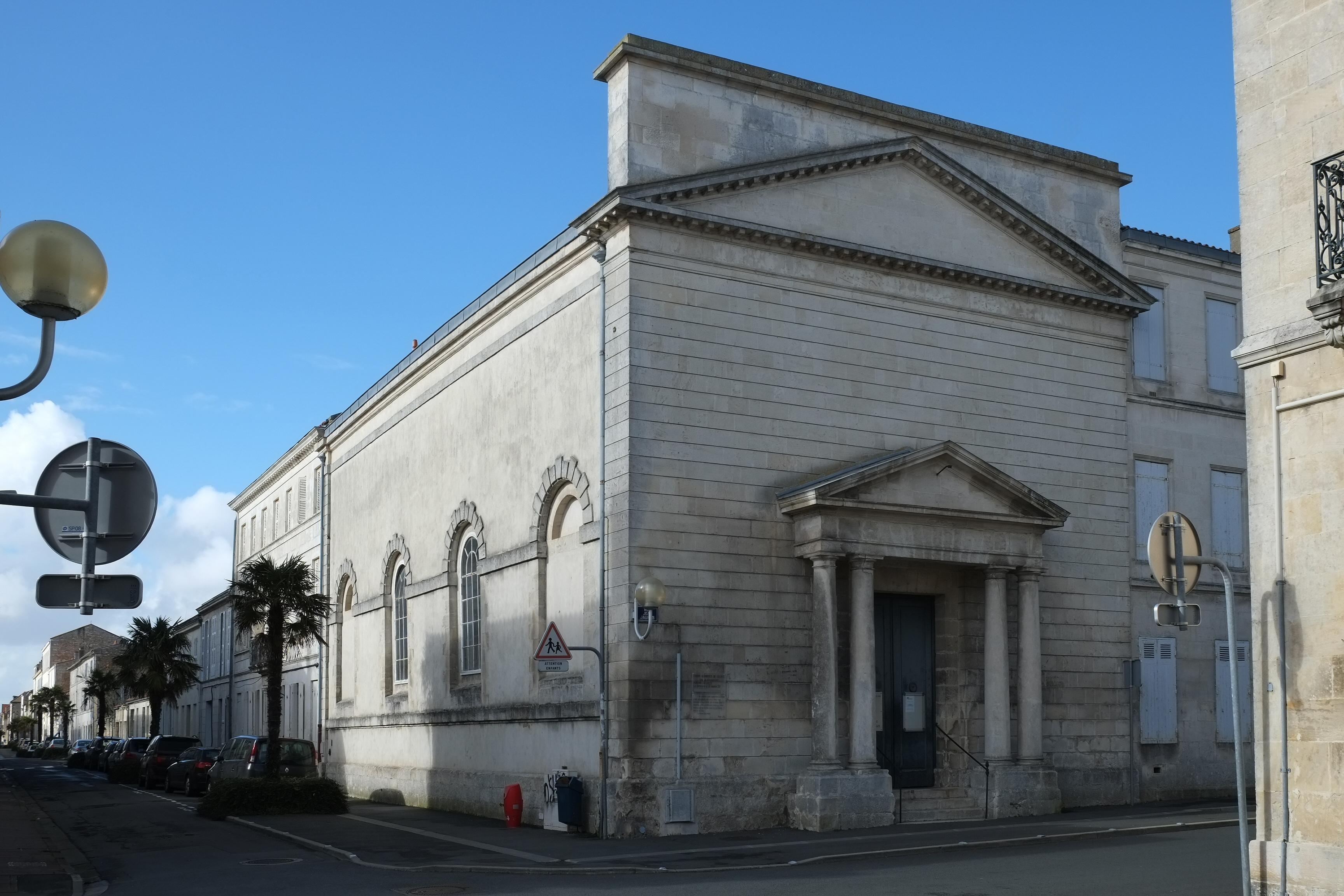 Temple de l'Eglise Protestante Unie de Rochefort
