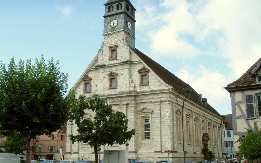25 - EGLISE PROTESTANTE UNIE DE MONTBELIARD SAINT MARTIN - L dans 25-Doubs 25-montbelliard-st-martin