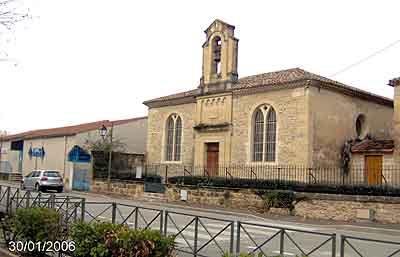 34470 - EGLISE PROTESTANTE UNIE D'AIMARGUES - R dans 34-Hérault 34470-aimargues