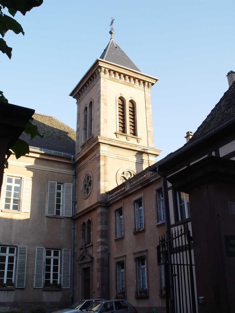 67000 - EGLISE PROTESTANTE DE STRASBOURG BOUCLIER - R dans 67-Bas Rhin eglise_du_bouclier_-_strasbourg