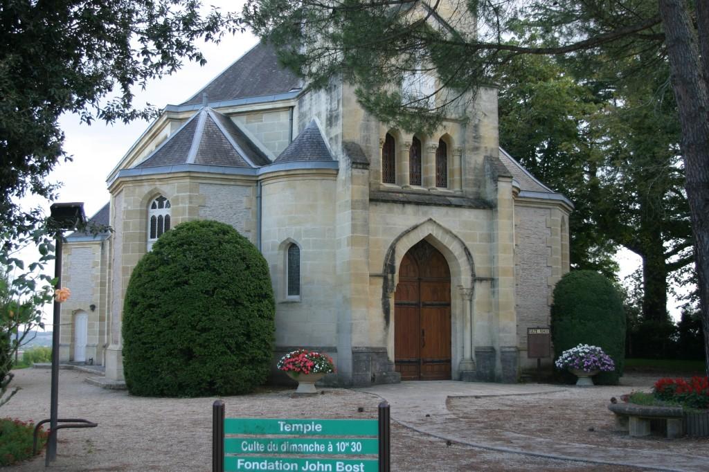 24130 - TEMPLE DE LA FONDATION JOHN BOST - R dans 24-Dordogne f-temple-de-la-fondation-jonhn-bost-la-force