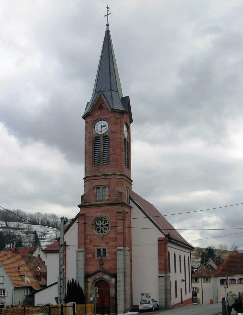 68140 - EGLISE PROTESTANTE UNIE DE SOULTZEREN - L dans 68-Haut Rhin soultzeren_temple_protestant