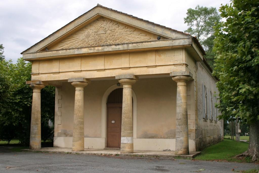 temple-protestant-saint-avit 33220 dans EGLISES