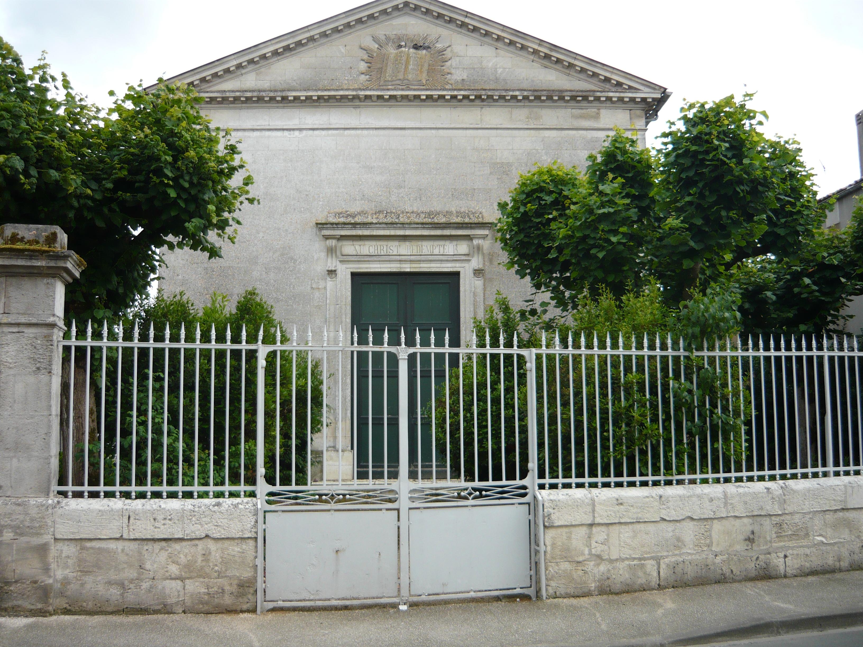 temple de l'Eglise Protestante Unie de Gémozac