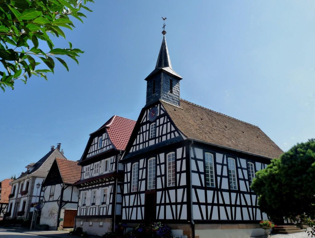 betschdorf-eglise_de_kuhlendorf alsace dans EGLISES