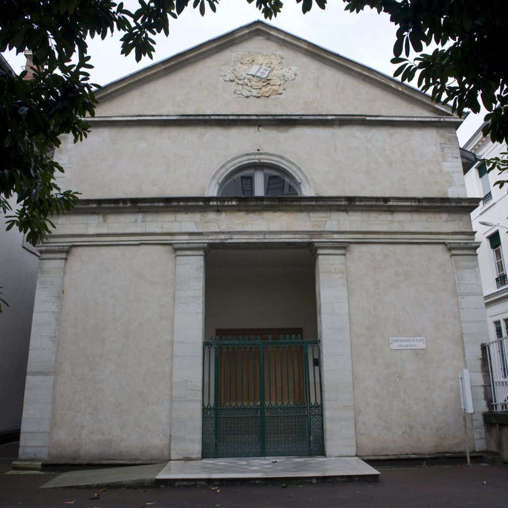 bayonne-temple_protestant pays basque dans EGLISES