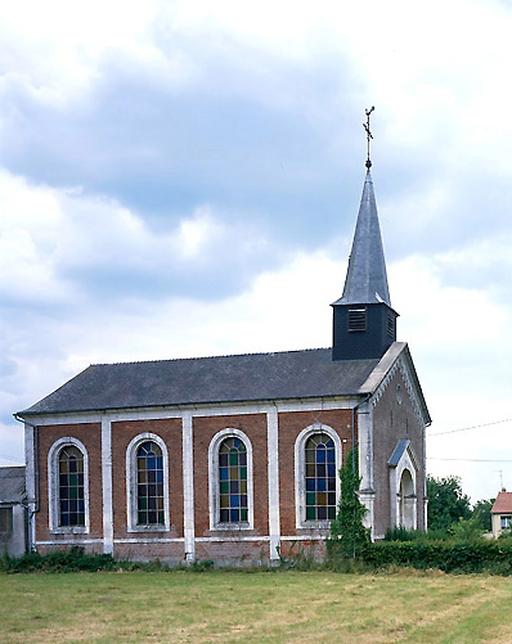 Temple de l'église protestante unie de Landouzy-la-ville