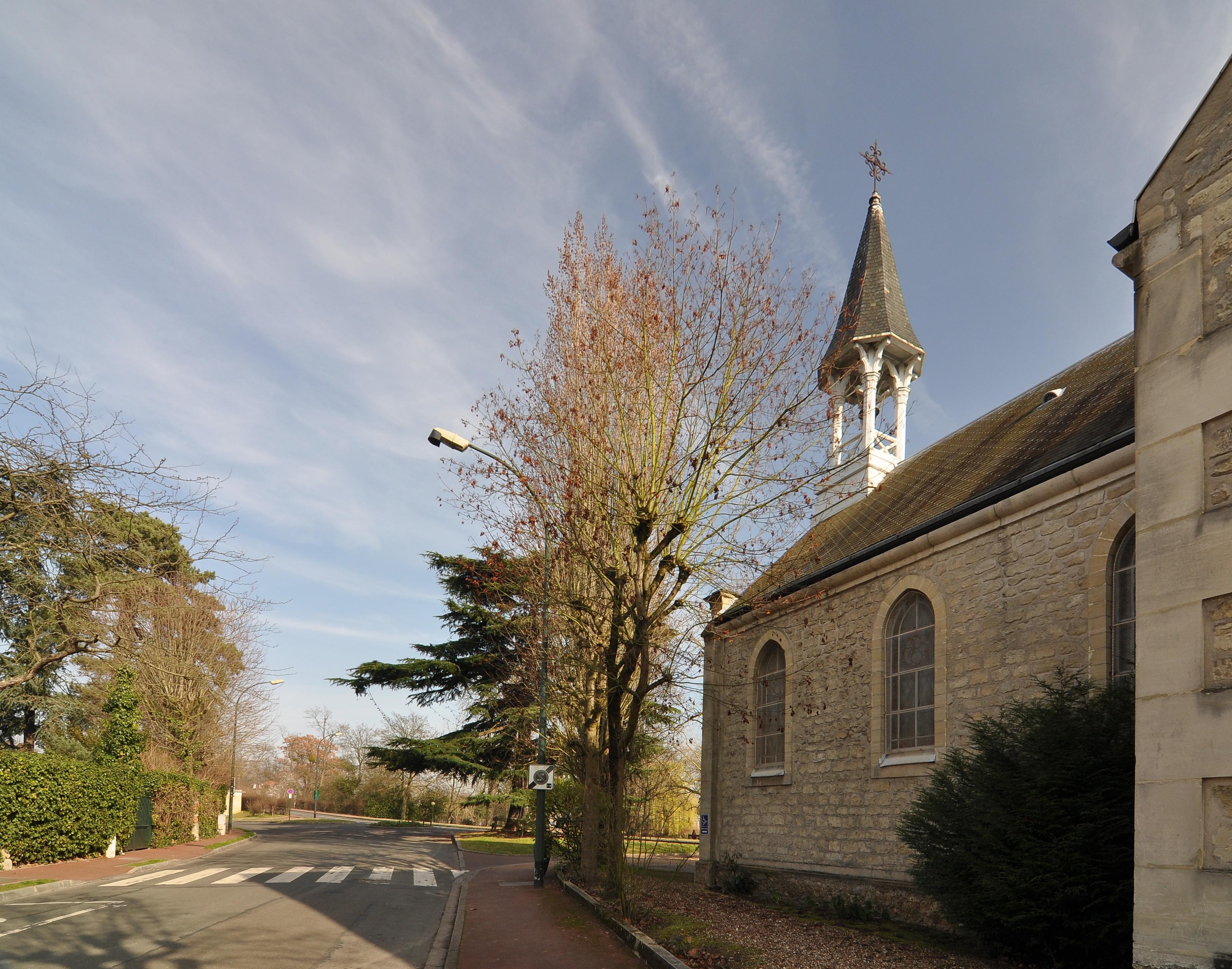 Temple de l'église protestante unie du Vésinet